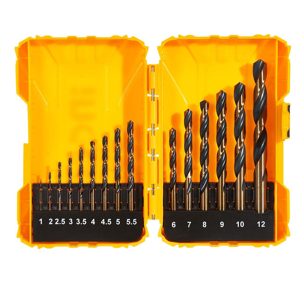 Купить Набір свердел по металу 15 од. 1-12 мм INGCO