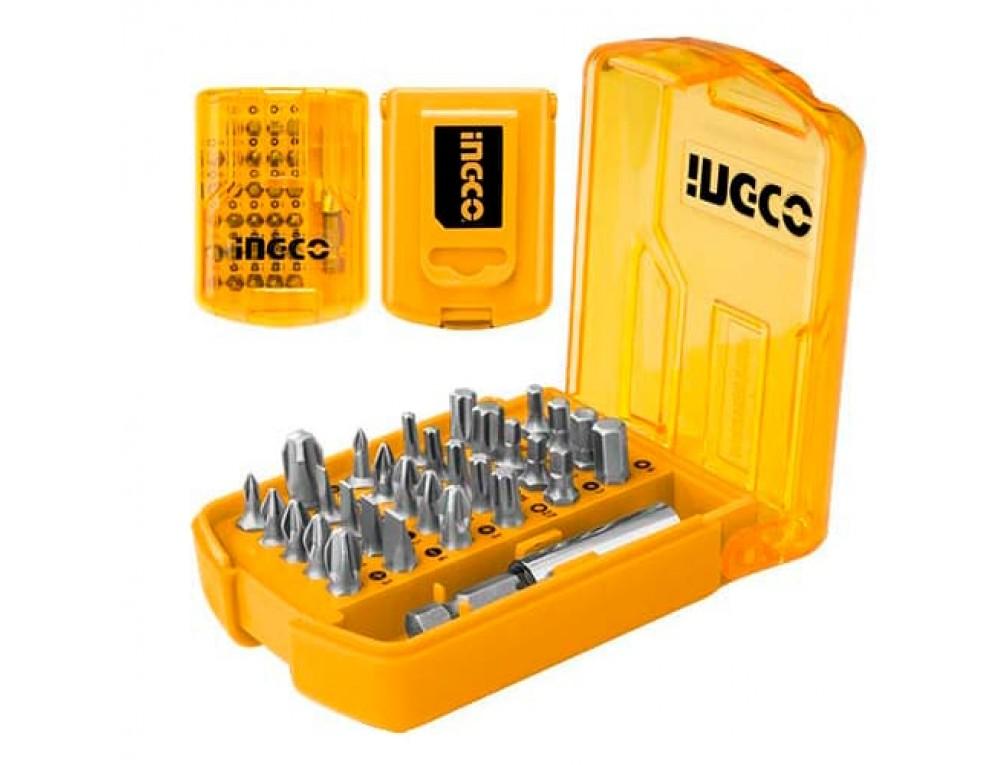 Набір біт із тримачем 30 предметів INGCO