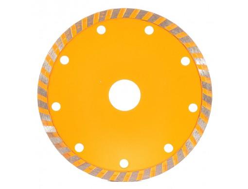 Диск алмазний турбохвиля 125×7,5×22,2 INGCO