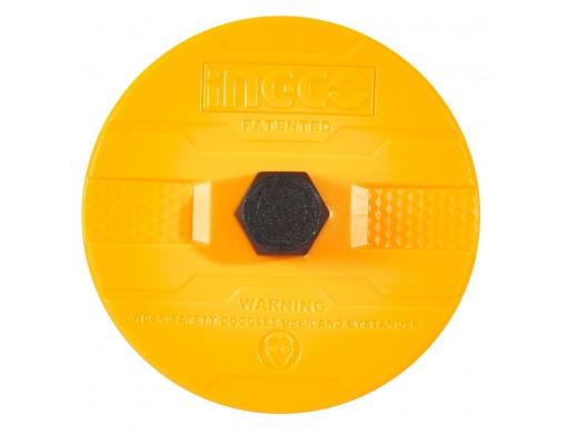 Зубило пікоподібне 4×18×300 мм з руків'ям INGCO