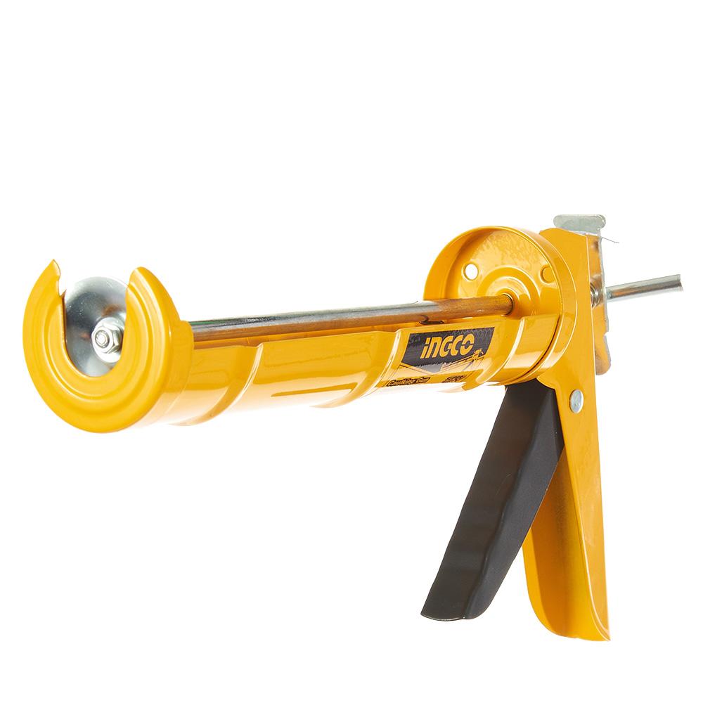 Купить Пістолет для герметика напівзакритий 230 мм INGCO Super Select