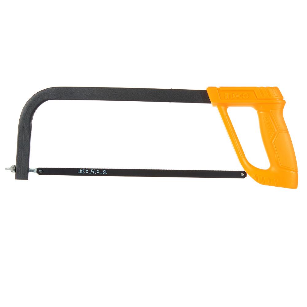 Купить Ножівка по металу 300 мм пластикова ручка INGCO