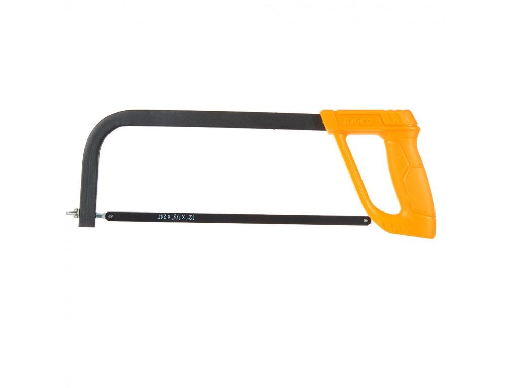 Ножівка по металу 300 мм пластикова ручка INGCO