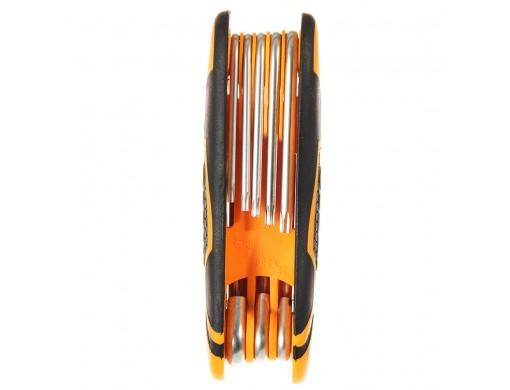 Комплект ключів Torx 8 шт. Т9-Т40 INGCO