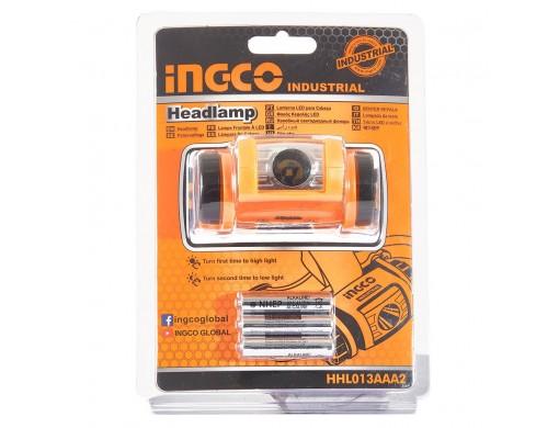 Налобний ліхтар IPX4 200 лм INGCO INDUSTRIAL