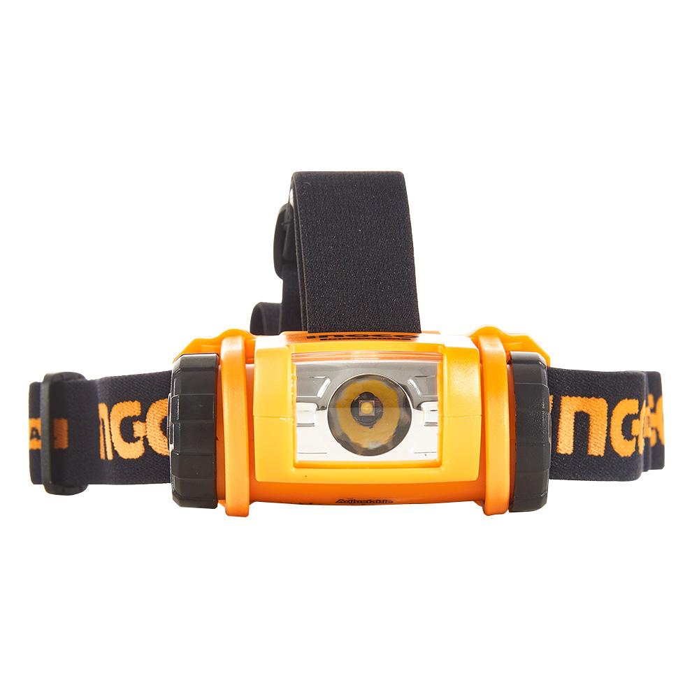 Купить Налобний ліхтар IPX4 200 лм INGCO INDUSTRIAL
