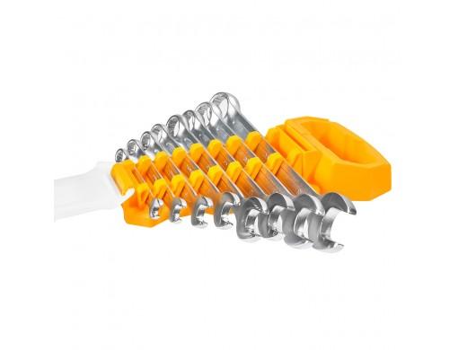 Комплект комбінованих гайкових ключів 6–19 мм INGCO INDUSTRIAL