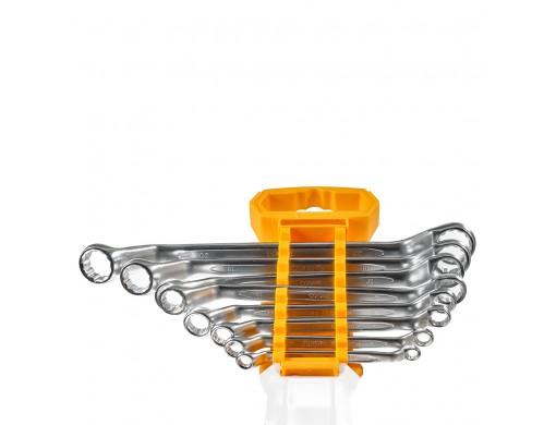 Комплект накидних вигнутих гайкових ключів 6–22 мм INGCO INDUSTRIAL