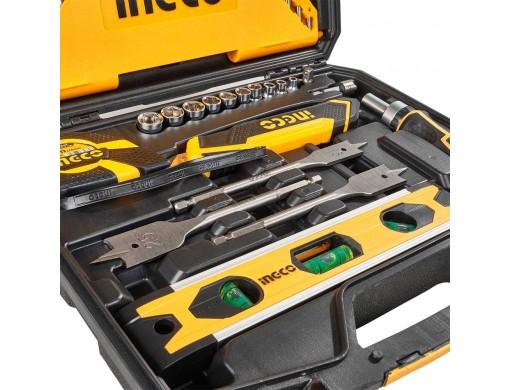 Набір інструментів універсальний 86 предметів INGCO