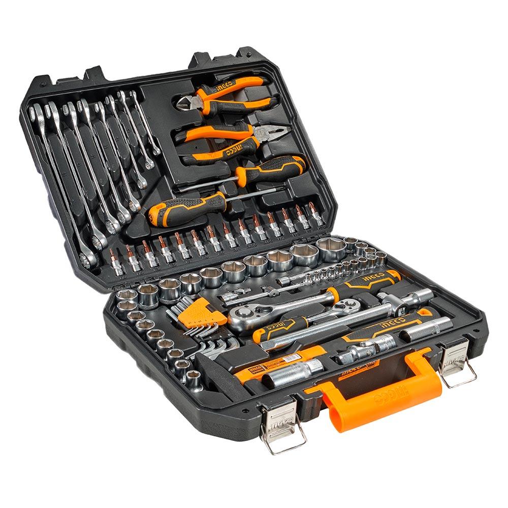 Купить Набір інструментів 77 предметів INGCO INDUSTRIAL