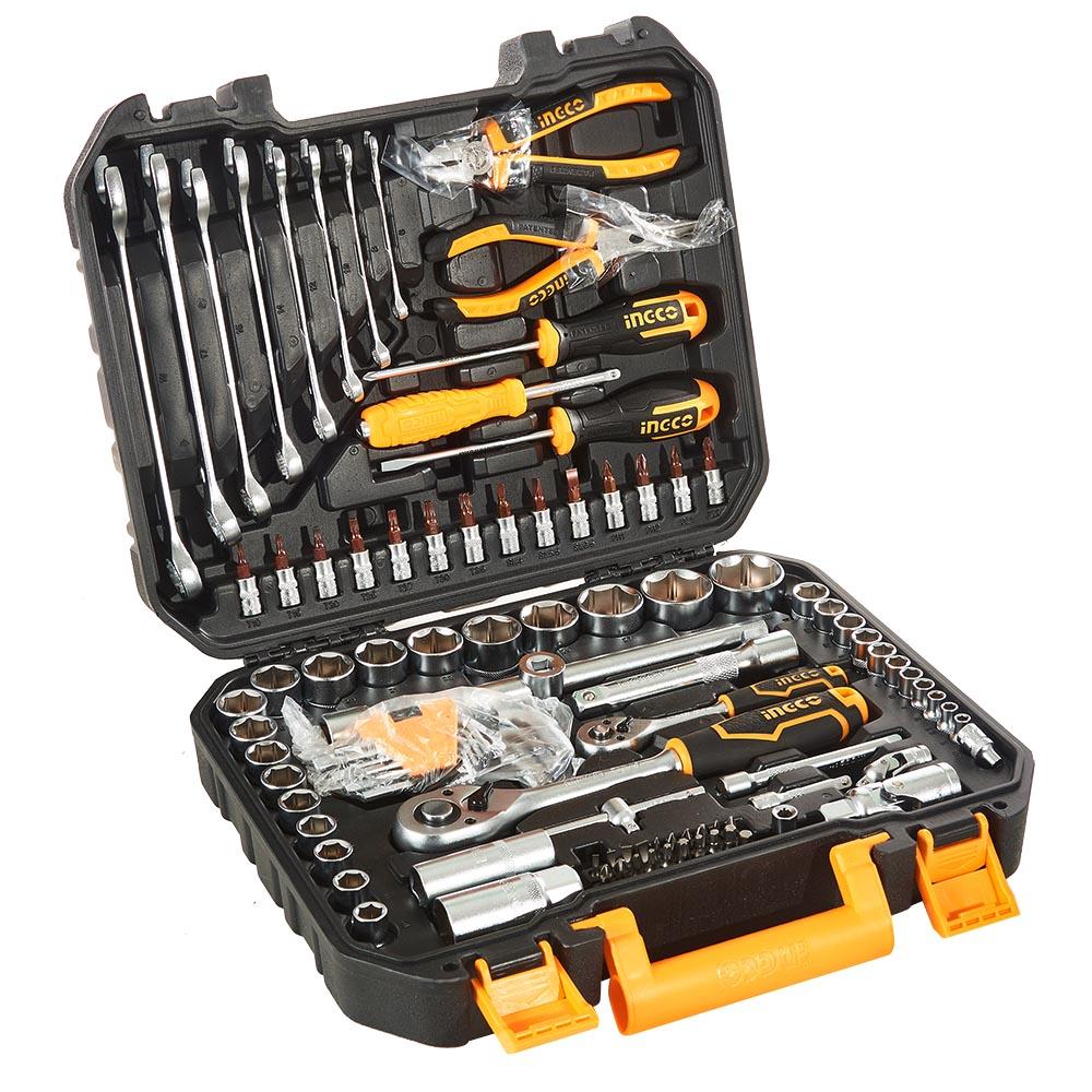 Купить Набір інструментів 100 предметів INGCO