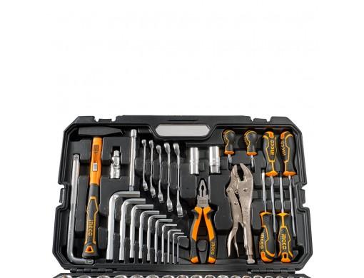 Набір інструментів універсальний 142 предмети INGCO INDUSTRIAL