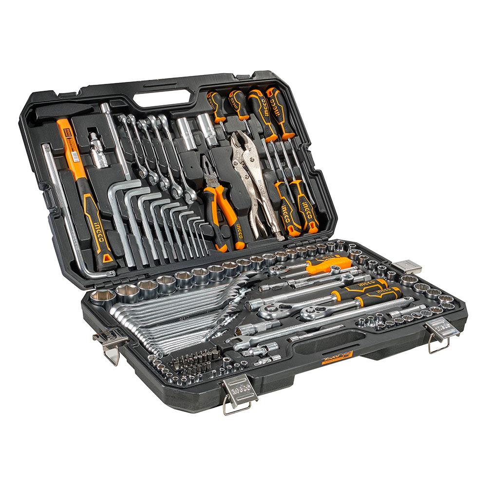 Купить Набір інструментів універсальний 142 предмети INGCO INDUSTRIAL