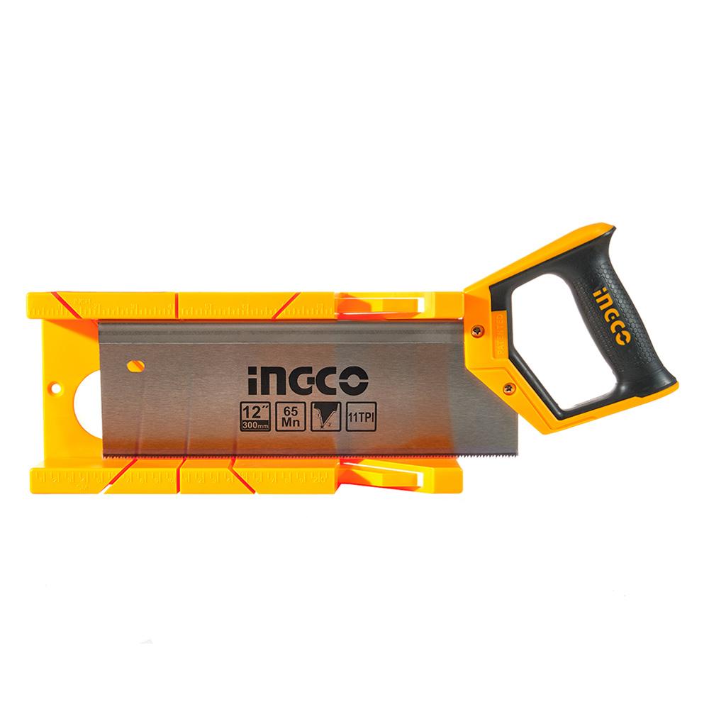 Купить Ножівка пасовочна з пластиковим стуслом 300 мм INGCO