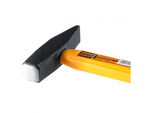 Молоток слюсарний фібергласова ручка 300 г INGCO