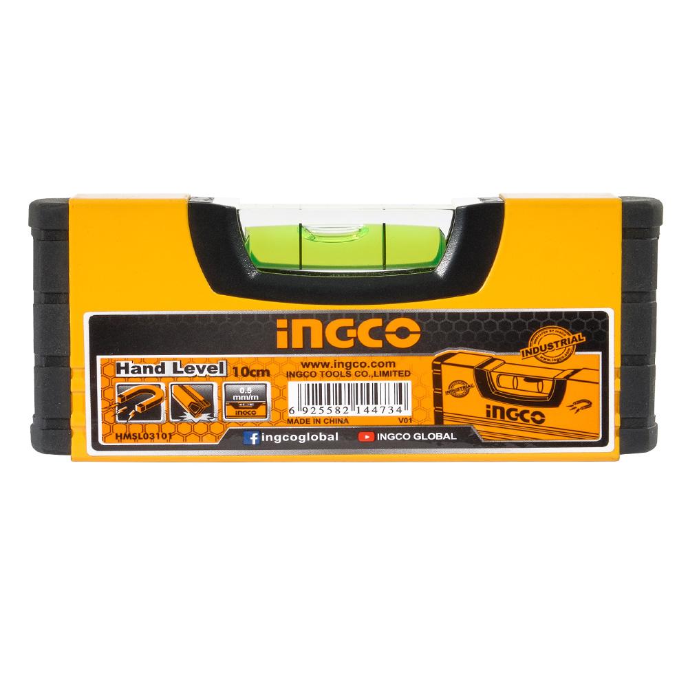 Купить Рівень 10 см з магнітами INGCO INDUSTRIAL