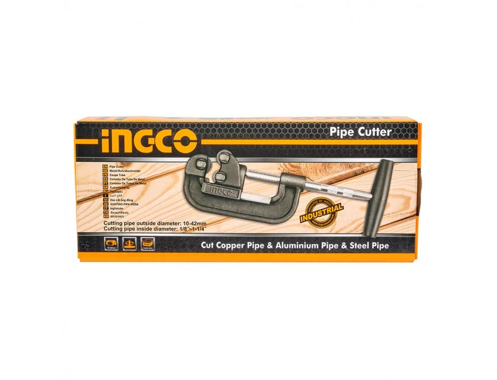 Труборіз для різання металевих труб 10–42 мм INGCO