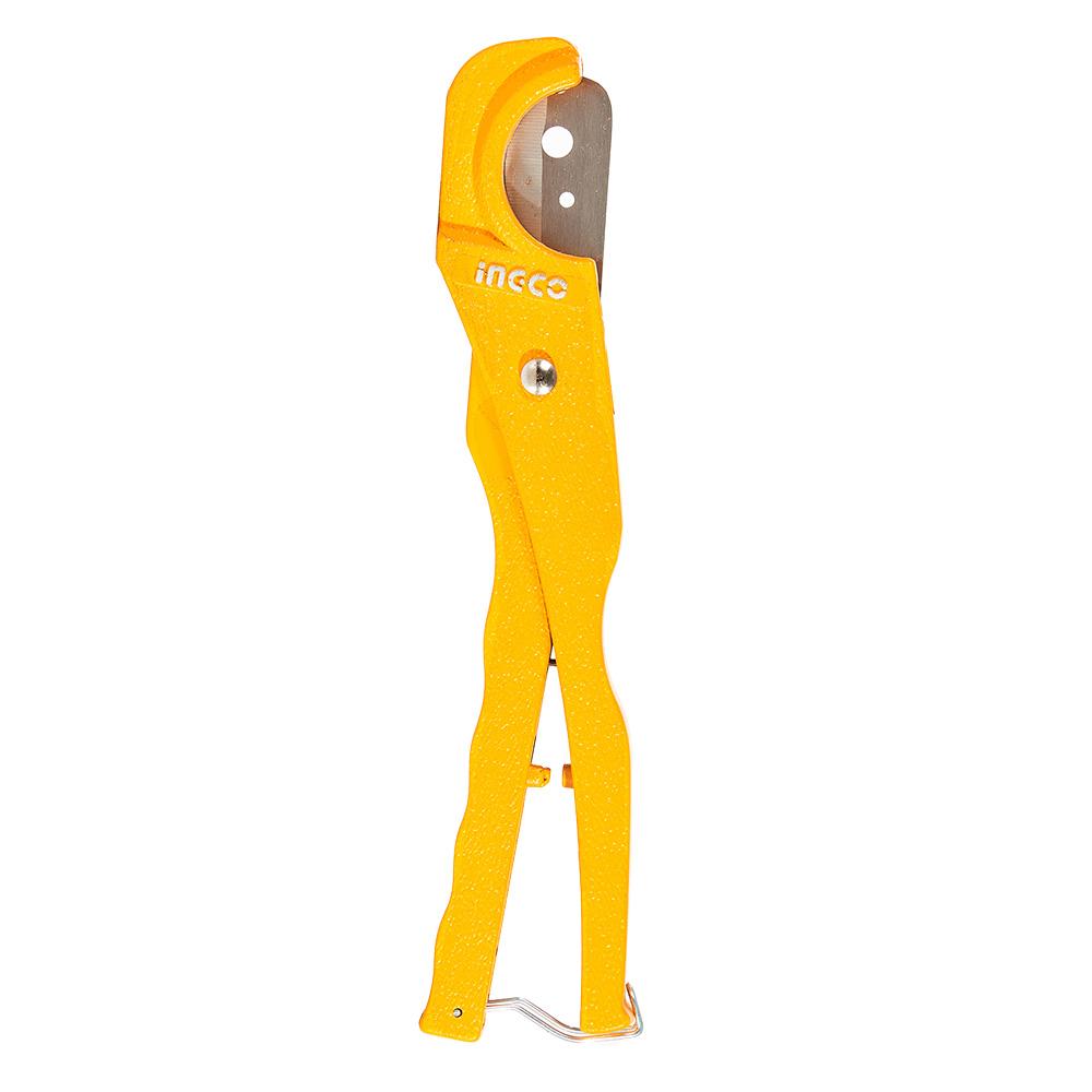 Купить Ножиці 210 мм для різання ПВХ труб 3–35 мм INGCO