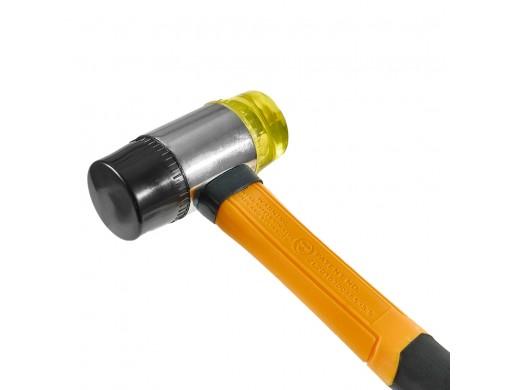 Молоток рихтувальний пластик/гума 40 мм INGCO