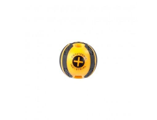 Викрутка хрестова PH 1×100 мм INGCO INDUSTRIAL