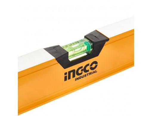 Рівень 60 см 3 капсули алюмінієва рамка 1,5 мм INGCO INDUSTRIAL