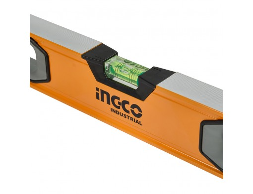 Рівень 80 см 3 капсули алюмінієва рамка 1,5 мм INGCO INDUSTRIAL