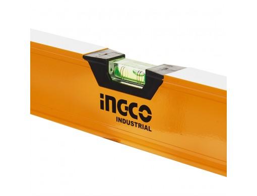 Рівень 100 см 3 капсули алюмінієва рамка 1,5 мм INGCO INDUSTRIAL