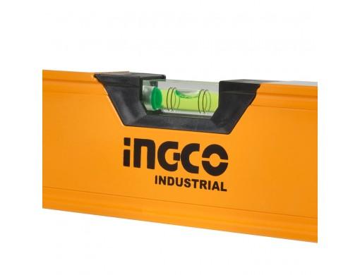 Рівень 200 см 3 капсули алюмінієва рамка 1,5 мм INGCO INDUSTRIAL