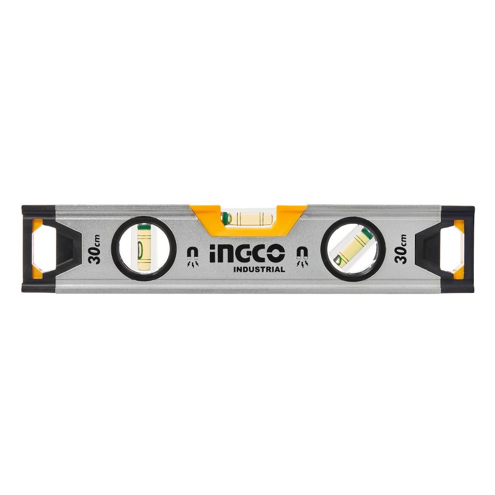 Купить Рівень 30 см 3 капсули алюмінієва рамка 1,5 мм з магнітами INGCO INDUSTRIAL
