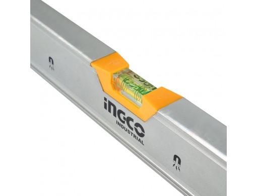 Рівень 60 см 3 капсули алюмінієва рамка 1,5 мм з магнітами INGCO INDUSTRIAL