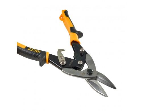 Ножиці по металу прямий різ 250 мм INGCO