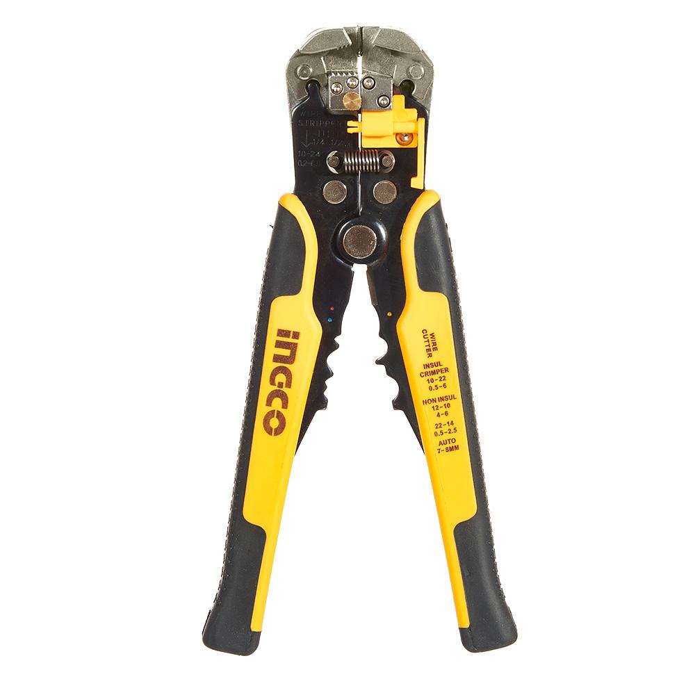 Купить Автоматичний стриппер багатофункціональний 0.2 - 6 мм² INGCO INDUSTRIAL