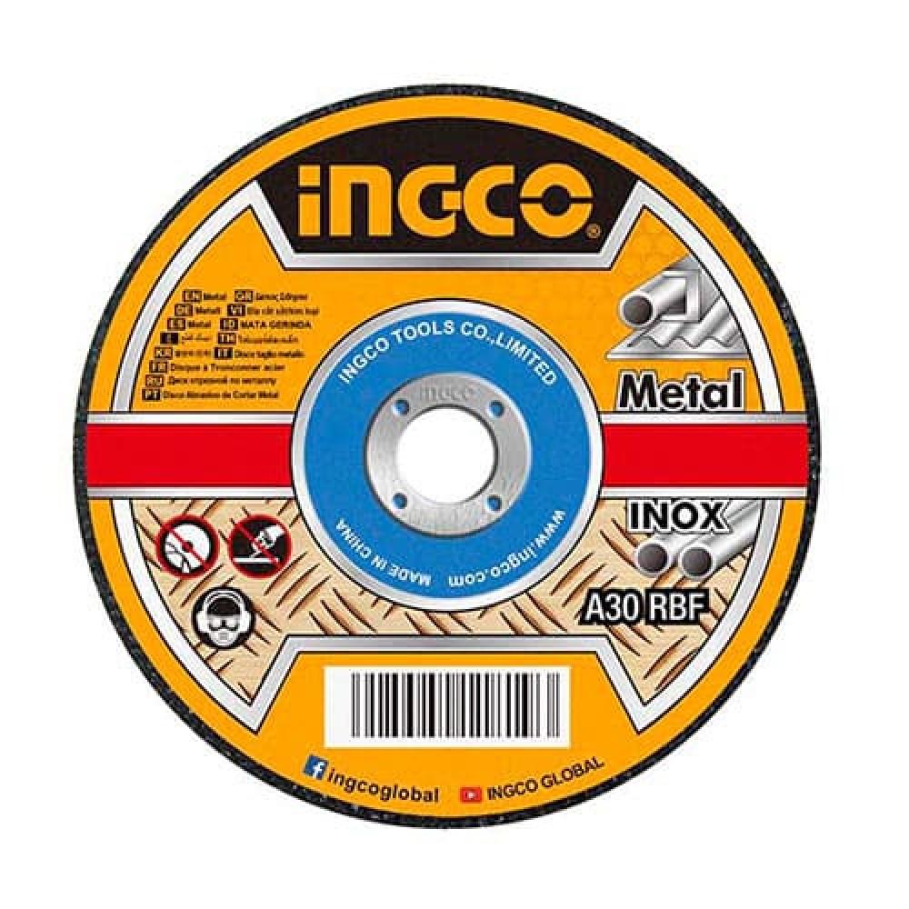 Купить Абразивний відрізний диск по металу 230×1,9×22,2 мм INGCO